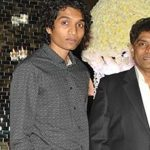 johnny lever with his son- Personsinfo.in