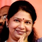 M Karunanidhi's Daughter Kanimozhi From Rajathi Ammal