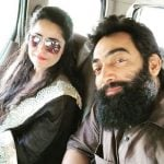 Meher Vij with her husband Manav Vij