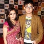 Meiyang Chang WIth Monali Thakur