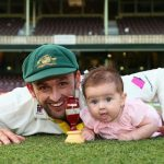 Nathan Lyon daughter Harper