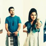 Neethusha Cherckal with her band members