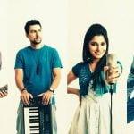 Neethusha Cherckal with her band members