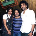 Priyanka Bose with husband Paresh Kamath (extreme right)