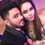 Raftaar with his wife Komal Vohra