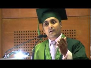 Rahul Bose at the 8th convocation of BRAC University Bangladesh