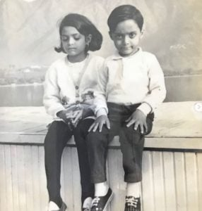 Rahul Bose in childhood