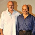 Rajesh Roshan with his brother Rakesh Roshan