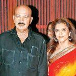 Rakesh Roshan with his wife