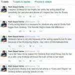 Ram Gopal Varma Sridevi controversy