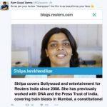 Ram gopal varma shaming jouranlist