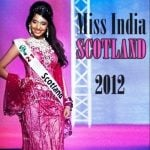 Rameet Sandhu Miss India Scotland 2012