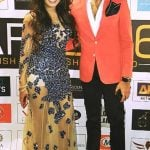 Rameet Sandhu with her brother Lord Munmeet Singh