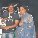 Ramgopal Varma with his mother