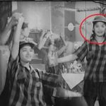 Saroj Khan as a Background Dancer