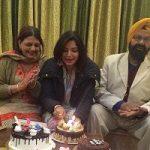 Satinder Satti parents