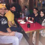 Shivaleeka with her parents & boyfriend Karampal