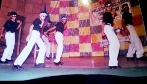 Shoaib Ibrahim during school dance competition