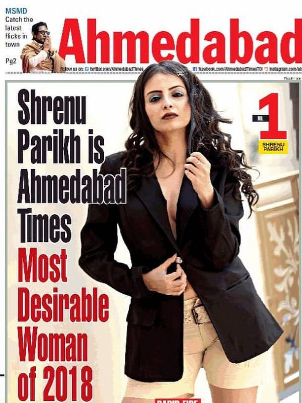 Shrenu Parikh as Ahemdabad's Most Desirable Women