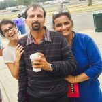 Shrenu Parikh with her Parents