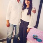 shruti-prakash-with-her-father-col-prakash