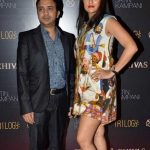 Sona Mohapatra with husband Ram Sampath