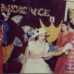 Sonia Mann participating in a play
