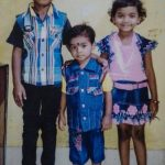 Sunny Pawar (Left) with his siblings