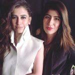 Syra Yousaf with Palwasha Yousaf