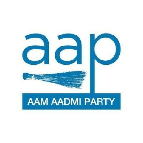 Aam Aadmi Party (AAP) flag