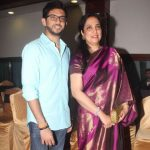 Aditya with his Mother Rashmi