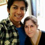 anshuman-jha-with-his-mother-kamla-jha