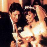 Arshad Warsi and Maria Goretti wedding photo