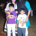 Ashutosh Rana With His Wife And Sons
