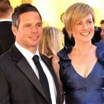 Brad Hodge with his wife Megan