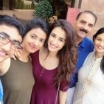 Khushboo Patani with her family