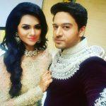 Gaurav Khanna with his wife Akansha