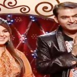 Ginni Chatrath with Kapil Sharma in Hans Baliye