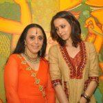 Ila Arun with daughter Ishita Arun