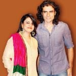 Imtiaz Ali with his Ex-wife Preety