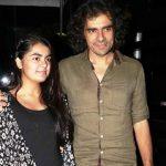 Imtiaz Ali with his daughter
