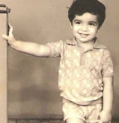 Imtiaz Ali's Childhood Photo