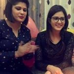 Isha Rikhi with sister