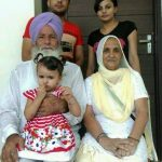 Jasmeen Jassi parents