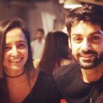 Jinita Sheth with Karan Wahi