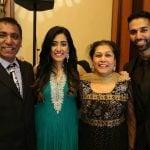 Jonita Gandhi family