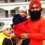 K. S. Makhan children
