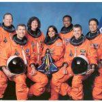 Kalpana Chawla and fellow crew members