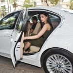 Kriti Sanon BMW 3 Series