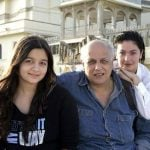 Mahesh Bhatt with his Daughters Alia and Pooja